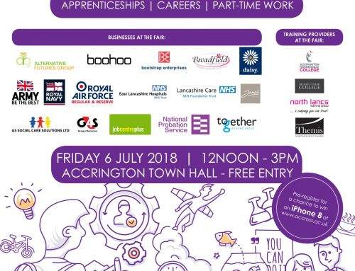 Hyndburn Jobs and Apprenticeship Fair Coming to Accrington