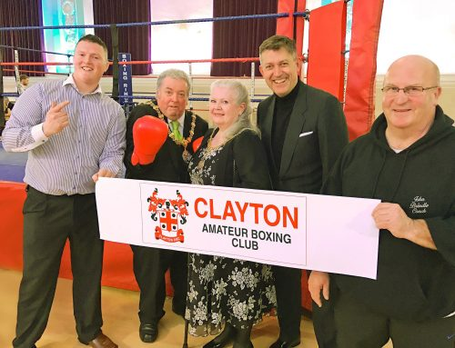 Boxing show boosts Amateur Boxing Clubs £20,000 fundraising target