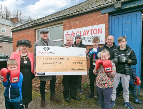 Amateur Boxing Club takes a jab at £20,000 fundraising target