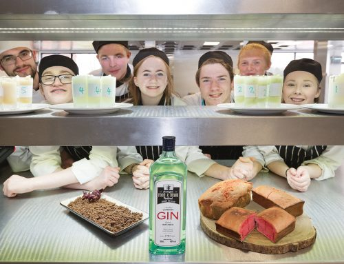 Catering students cook up signature dish for Accrington Food Festival