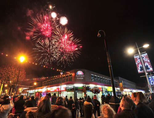 JOIN THE FESTIVE FUN AT ACCRINGTON'S COUNTDOWN TO CHRISTMAS AND FIREWORKS EXTRAVAGANZA