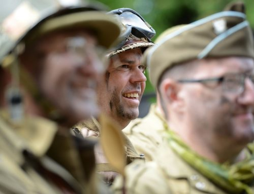 WW2 re-enactment returns to Accrington