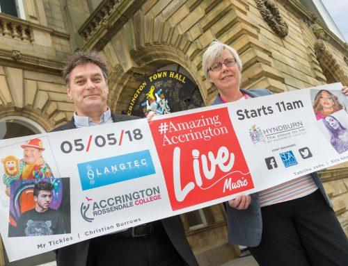 Accrington to host first ever family fun music festival, #AmazingAccrington – Live!