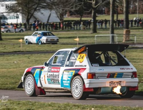"""""""I vividly remember getting out of the car, climbing the embankment and the first car I see going around the track is this Peugeot 205T16"""""""