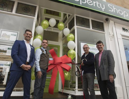 Property Shop celebrate brand-new sales department with special guest, David Lloyd