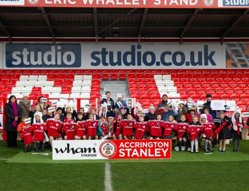 1200 future Accrington Stanley supporters received FREE Shirts yesterday
