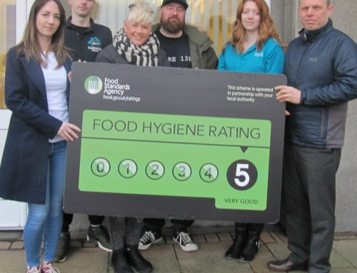 MORE HYNDBURN FOOD BUSINESSES AWARDED 5 HYGIENE RATING