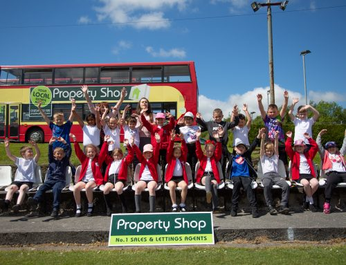 Property Shop Arena hosted Hyndburn school children for an afternoon of activities