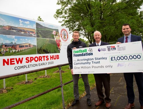 Accrington Stanley Community Trust Awarded £1m Grant for Sports Hub
