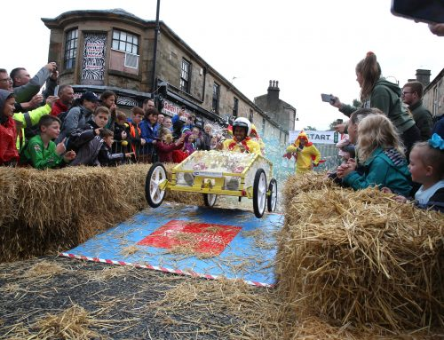 Slip and Slide – Downpour didn't dampen the day for successful Soapbox Challenge