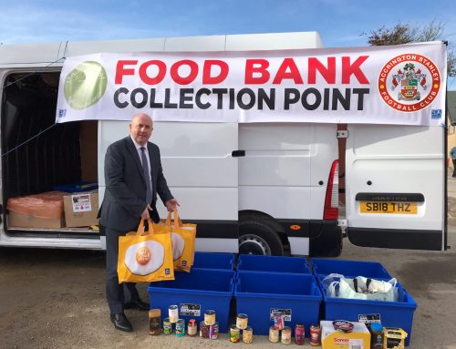 Accrington Stanley Food Bank Collection Aims to Beat Last Year's Two Tonne Record