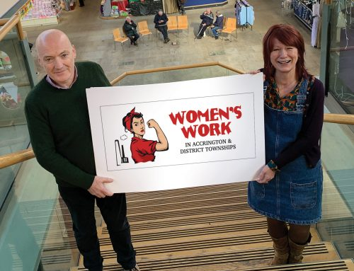 Women's Work – a Hyndburn based heritage project, can go ahead thanks to emergency funding from the National Lottery.