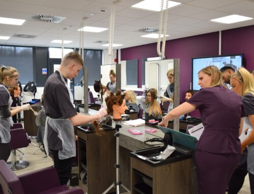 Hair and Beauty salons are a highlight of Accrington and Rossendale College's £4million makeover