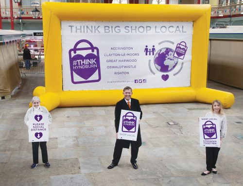 HYNDBURN LEADERS STEP UP WITH SHOP LOCAL INITIATIVE