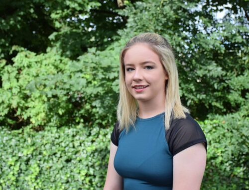 Sport student and fitness fanatic Ellie seeing stars after gaining top grades at Accrington and Rossendale College
