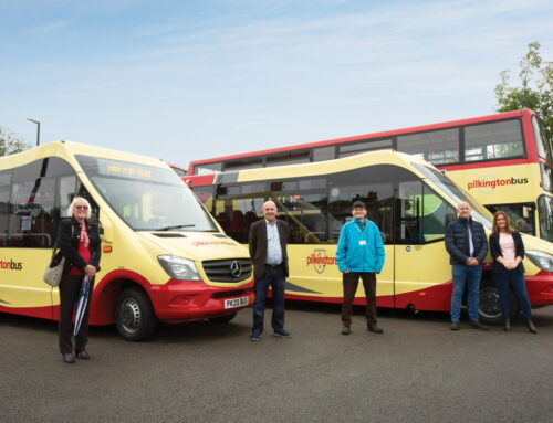 Pilkington Bus Announces Four New Routes, Four New Vehicles, and Eight New Drivers in a £3 Million Contract