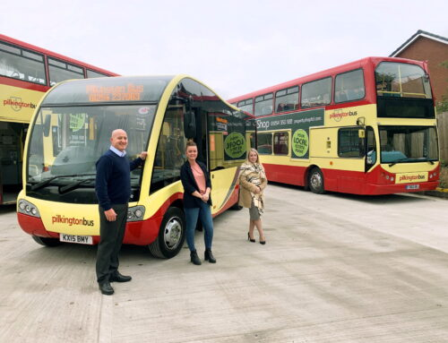 Pilkington Bus: Keeps Accrington Moving with 12 New Staff and a Raft of New Investments