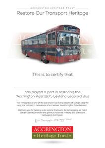 Bus Certificate