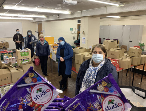 Studio help the ARC Project Blackburn with a selection box donation