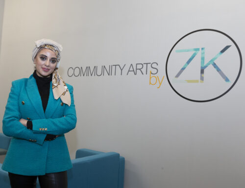 Look at #AmazingAccrington business Bevlan Interior's design and production project for Community Arts by ZK