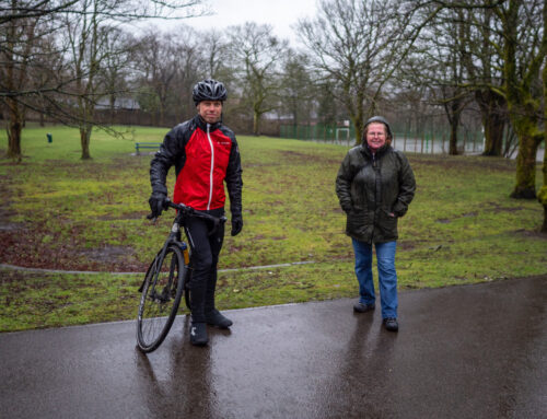 MILNSHAW PARK GETS UPGRADE WITH NEW PUMP TRACK