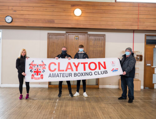 NEW HOME FOR CLAYTON BOXING CLUB ANNOUNCED AFTER £50,000 OF FUNDING AWARDED