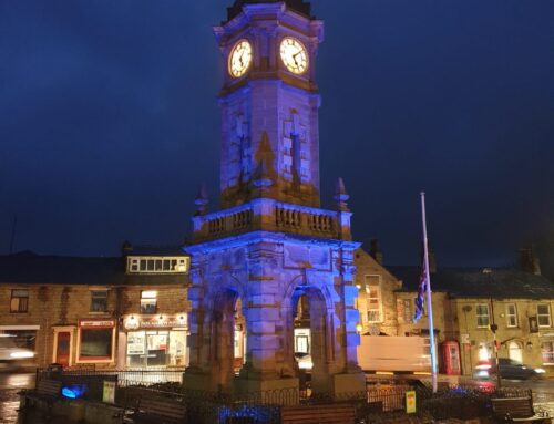 Mercer Memorial Clock Tower in Great Harwood to go purple in celebration of Census 2021