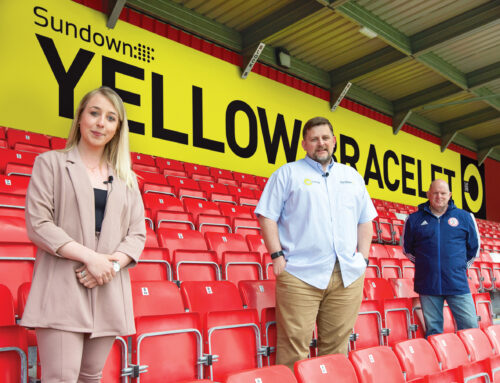 Sundown Solutions sponsor boards at Accrington Stanley with a three year deal