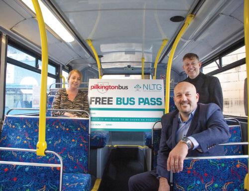 NLTG LAUNCH FREE BUS PASS SCHEME FOR 16-18 YEAR OLD TRAINEES IN HYNDBURN